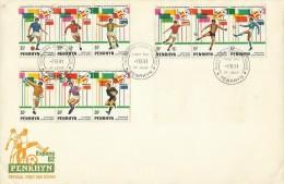 Penrhyn 1982 Espana 82 Football World Cup FDC - Penrhyn