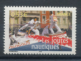 3767** Les Joutes Nautiques - Unused Stamps