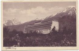 Slovakia Vysoke Tatry Novy Smokovec Neu-Schmecks Újtátrafüred PALACE Sanatorium - Slovakia