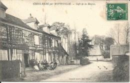 EN L ETAT - CROIX - MARE - PAR MOTTEVILLE - CAFE DE LA MAIRIE - France