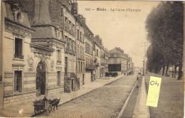 BOIS   41  La Caisse D'Epargne   Animée  Avec Attelage - Blois