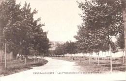 Vailly-sur-Aisne (02) Les Promenades Et Le Jeu De Paume - France