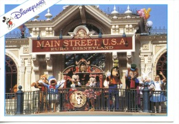 Marne La Vallée : Euro Disney (1994) Puis Disneyland Paris : LMain Street Station N°115 - Disneyland