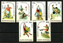 CALCIO FOOTBALL  ROMANIA    Serie Cpl  Nuova ** MNH - Coupe Du Monde