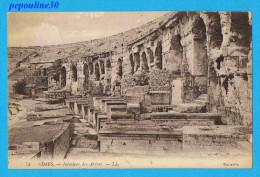 NIMES (Gard) INTÉRIEUR DES ARÈNES. - Nîmes