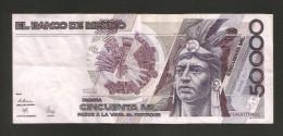 [NC] MEXICO - El BANCO De MEXICO - 50000 PESOS (1989-1990) - CUAUHTEMOC / SERIE FH - Mexico