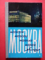 Moscow - Photo Book Leporello - Russia USSR - Unused - Livres, BD, Revues