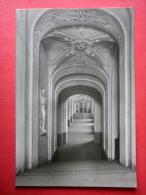 Main Staircase In The West Wing - Heidecksburg Castle - Old Postcard - Germany DDR - Unused - Rudolstadt