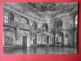 The Ballroom - Heidecksburg Castle - Old Postcard - Germany DDR - Unused - Rudolstadt