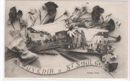 SAINT SAULGE  - Fantaisie Souvenir - Vues Multiples (2) (70484) - Frankreich