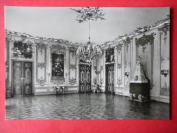 The Green Hall - Heidecksburg Castle - Old Postcard - Germany DDR - Unused - Rudolstadt