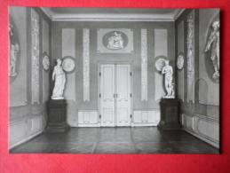 The White Room - Heidecksburg Castle - Old Postcard - Germany DDR - Unused - Rudolstadt