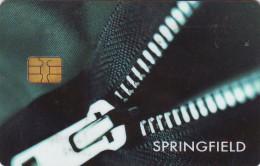 Tarjeta Comercial SPRINGFIELD (dorso En Catalán) - Otros