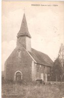 CPA - FRANCE - SERAZEREUX (Eure Et Loire ) - Cachet 764 -  L'Eglise - 1915 - Francia