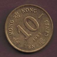 HONG KONG 10 CENTS 1983 - Hong Kong