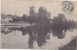 SAINT OUEN L'AUMONE 1908 ILE DU POTHUIS - Saint-Ouen-l'Aumône