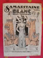 Catalogue  A La Samaritaine (maison Ernest Cognacq). Blanc 1932. 64 Pages - Fashion