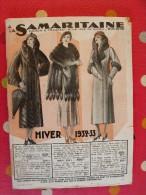 Catalogue  A La Samaritaine (maison Ernest Cognacq). Hiver 1932-1933. 172 Pages - Fashion