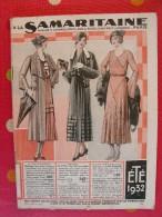 Catalogue  A La Samaritaine (maison Ernest Cognacq). été 1932. 164 Pages - Fashion