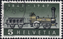 Schweiz 1947 Zu#277.2.01 Fehlende Speiche Gestempelt - Suisse