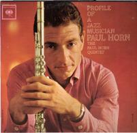 * LP *  PAUL HORN QUINTET - PROFILE OF A JAZZ MUSICIAN (Canada 1962) - Jazz