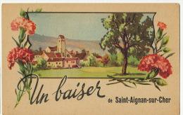 St Aignan Sur Cher   Un Baiser Oeillets - Saint Aignan