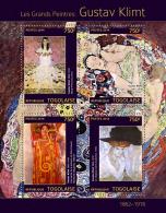 tg14314a Togo 2014 Painting Gustav Klimt s/s