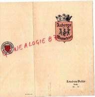 72 - TORCE EN VALLEE - MENU AUBERGE DES MOUSQUETAIRES - CHAINE DES ROTISSEURS- 24 MAI 1959 - Menus