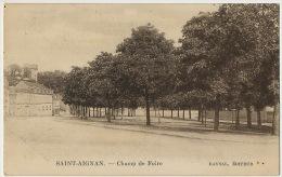 St Aignan Sur Cher  Champ De Foire Edit Raynal Vers Mme Gargouil Institutrice Fontaines En Sologne - Saint Aignan