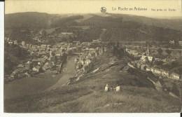 La Roche En  Ardenne -- Vue  Prise  De  Dester.    (2 Scans) - La-Roche-en-Ardenne