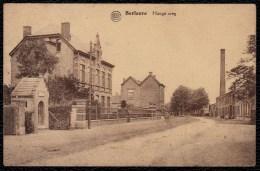 BERLAERE -  HOOGE WEG  - Gelopen  - Gedeelde Rug - édit. Van Exter - Berlare