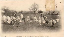 ALGERIE  SCENES ET TYPES  Jeu De La Koura- Fête Pour Obtenir La Pluie  ..... - Szenen