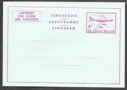 BELGIUM - 4 Fr - Three Language Inscription - Scarce - Ganzsachen