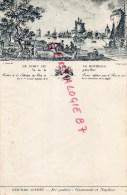 17 - MENU - LE PORT DE LA ROCHELLE VU DE LA PETITE RIVE 1776- COGNAC GODET GASTRONOME ET NAPOLEON - Menus