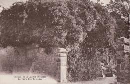 39900   LA CAILLERE  1935  TIMBRE  VERSO - La Chataigneraie