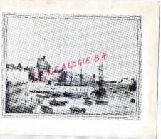 35 - SAINT MALO - MENU DINER DE LA S.A.D.G. HOTEL CENTRAL -31 MAI 1965-  DESSIN DU PORT - Menus