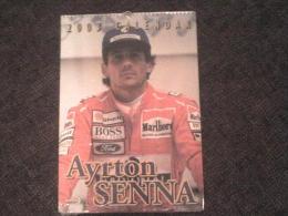 Calendrier NEUF SCELLE Calendar 12 PHOTOS De Ayrton Senna, Chacune=29.5 Cmx42 Cm - Autorennen - F1