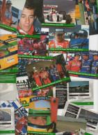 18 Cartes Originales/cards GRID: (14 : Ayrton Senna) +   (4 : Mansell Prost F1) - Autorennen - F1