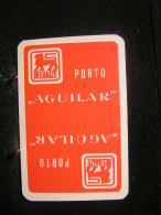 "Playing Cards / Carte A Jouer / 1 Dos De Cartes,  Inscription  Publicitaire   / Porto "" Aguilar "" Magasin Delaize1 - Ohne Zuordnung"