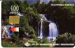 @+ Bosnie Herzegovine - Waterfall : Slapovi Une- Ref : BSH-11 - Bosnie