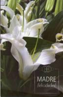 Lote PEP782, Cuba, Entero Postal, Postcard, 2008, Postal Stationary, Madre, Felicidades, Flores, Flower, Mother´s Day, 5 - Postales
