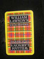 Playing Cards / Carte A Jouer / 1 Dos De Cartes, Inscription  Publicitaire / William Lawson's,  Scotch Whisky - Cartes à Jouer