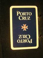 Playing Cards / Carte A Jouer / 1 Dos De Cartes, Inscription  Publicitaire / Aperitif,  Porto Cruz - Spielkarten