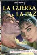 """""""LA GUERRA Y LA PAZ"""" DE LEÓN TOLSTOI-EDIT.ABRIL- AÑO 1959- PAG.185-USADO-GECKO. - Poëzie"""