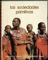 """BIBLIOTECA SALVAT Nº 46 """"LAS SOCIEDADES PRIMITIVAS"""" EDIT.SALVAT-AÑO 1973-PAG.140- A COLOR! TAPAS RÍGIDAS. NUEVO-GECKO - Encyclopedieën"""