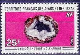 AFARS ET ISSAS  Yvert  370 BLOC DE 4 COIN DATE (30/02/1970) MNH, Neuf Sans Charniere - Minéraux