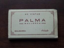 20 Vistas PALMA Mallorca : Talleres A. ZERKOWITZ Foto Barcelona ( Zie Foto ) !! - Old Paper