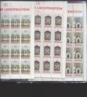 Liechtenstein ** 951-953 Bildstöcke      Kleinbogen Ungefaltet Katalog 40,00 - Unused Stamps
