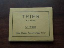 TRIER A. D. MOSEL ( 12 Photos : Niko Haas Trier / Zie Foto ) !! - Vieux Papiers