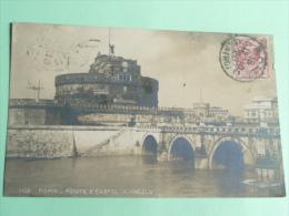 ROMA - Ponte E Castel S.ANGELO - Ponts